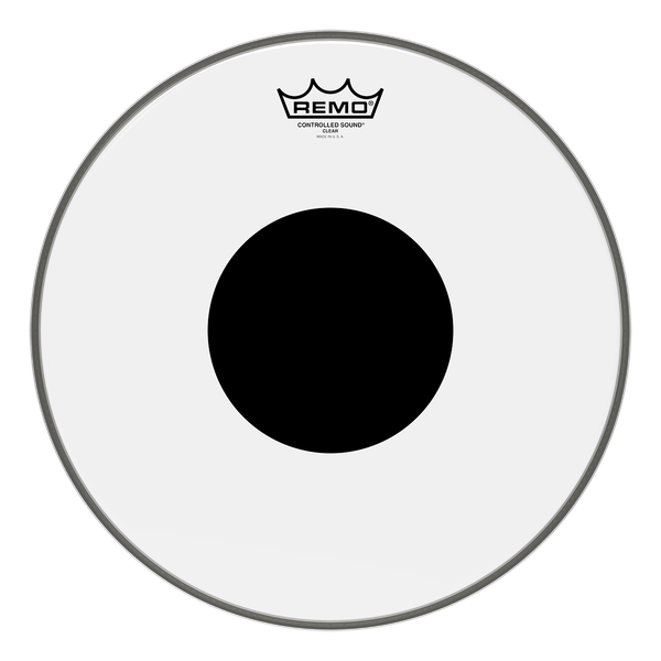 Remo Controlled Sound Clear Black Dot Drumhead