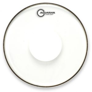 Aquarian Response 2 Clear with Power Dot Drumhead