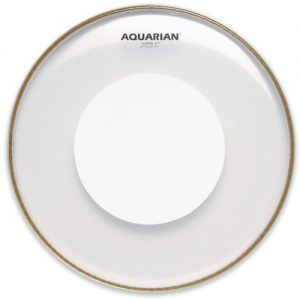 Aquarian Super 2 Clear Power Dot Drumhead