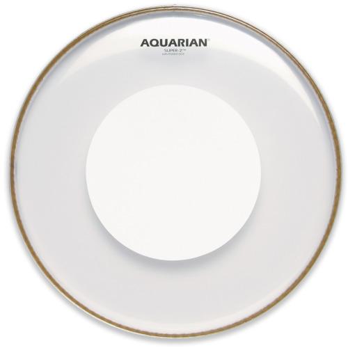 Aquarian Super 2 Clear Power Dot Drumhead