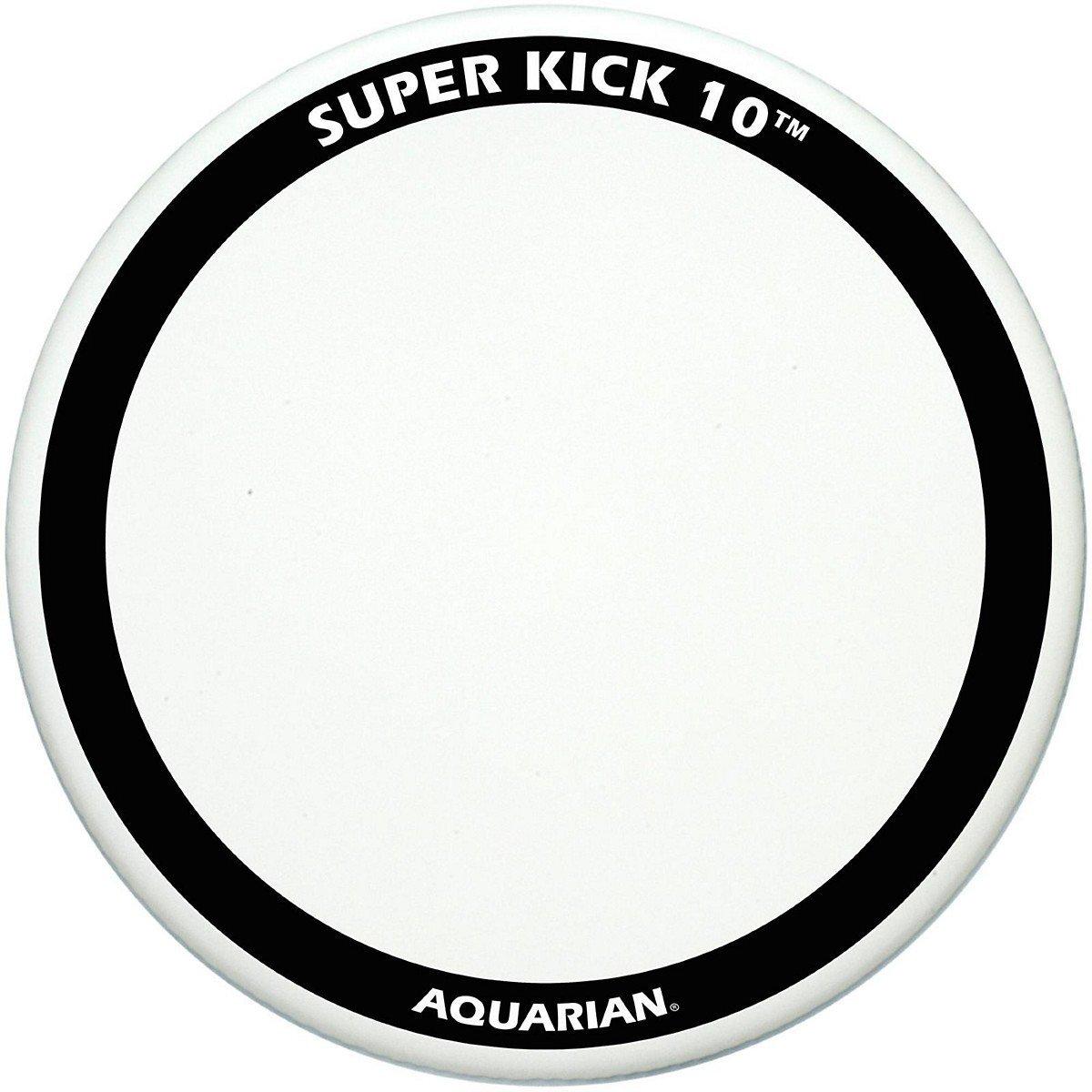 aquarian super kick 10 coated bass drum head review. Black Bedroom Furniture Sets. Home Design Ideas