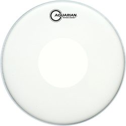 Aquarian Texture Coated with Power Dot Drumhead
