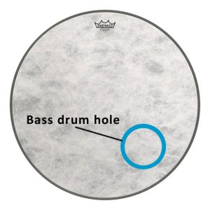 Bass Drum Hole Placement