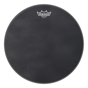 Remo Ambassador Black Suede Snare Side Resonant Drumhead