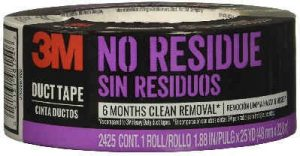 3M No Residue Duct Tape Drum Dampening Tape