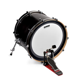 Evans EMAD UV1 bass drumhead