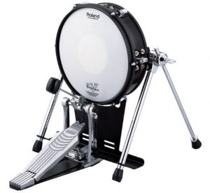 Roland Mesh Electronic Bass Drum Pad - Use A Plastic Bass Drum Beater