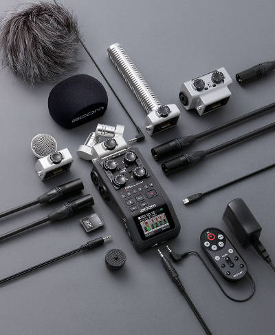 Best music gifts for musicians: Zoom H6 Recorder