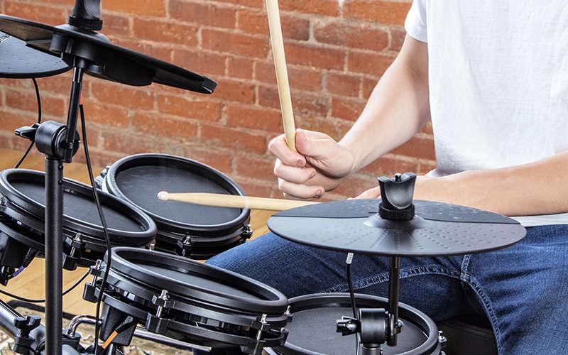 Alesis Nitro Mesh Electronic Drum Kit Closeup