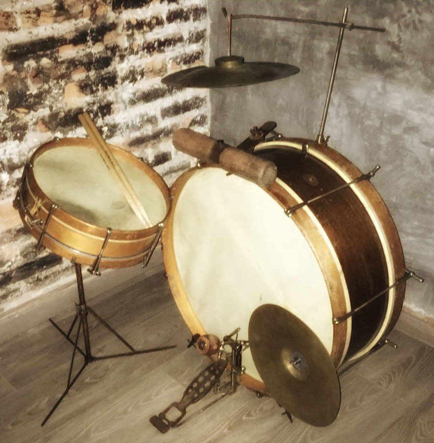 Ludwig Jazz Er Up 1918 Drum Kit