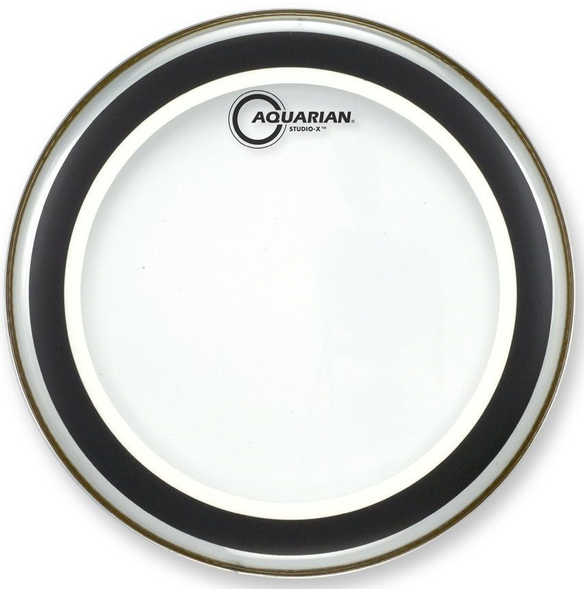 Aquarian Studio-X Clear Drumhead