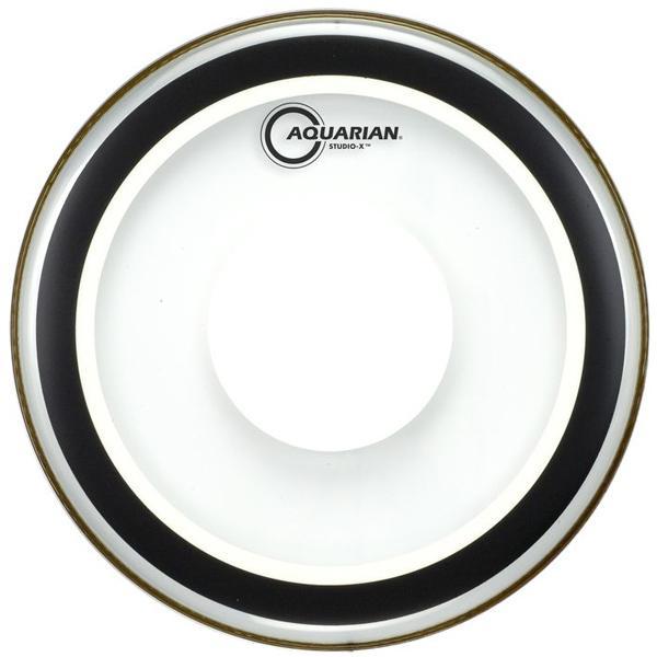 Aquarian Studio X Clear Power Dot Drumhead