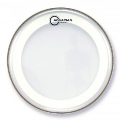 Aquarian Super 2 Clear with Studio-X Ring Drumhead