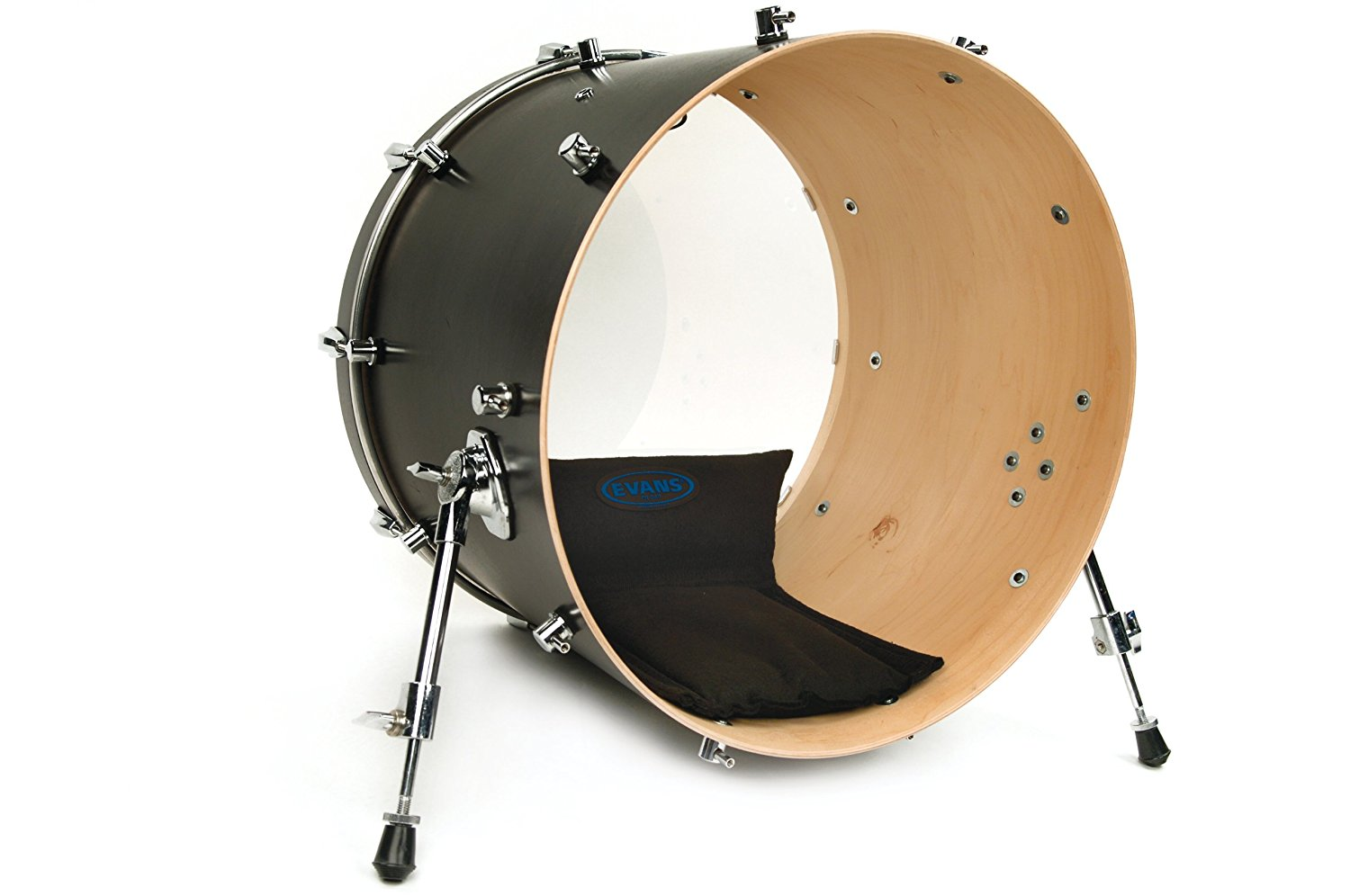 evans eq bass drum damper pad review drumhead authority. Black Bedroom Furniture Sets. Home Design Ideas