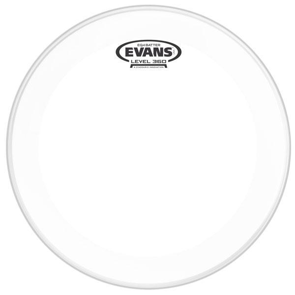 Evans EQ4 Clear Drumhead