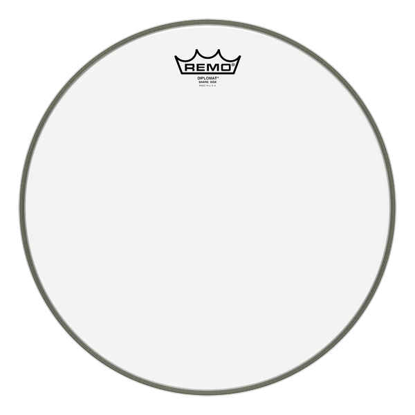 remo diplomat hazy snare side resonant review drumhead authority. Black Bedroom Furniture Sets. Home Design Ideas