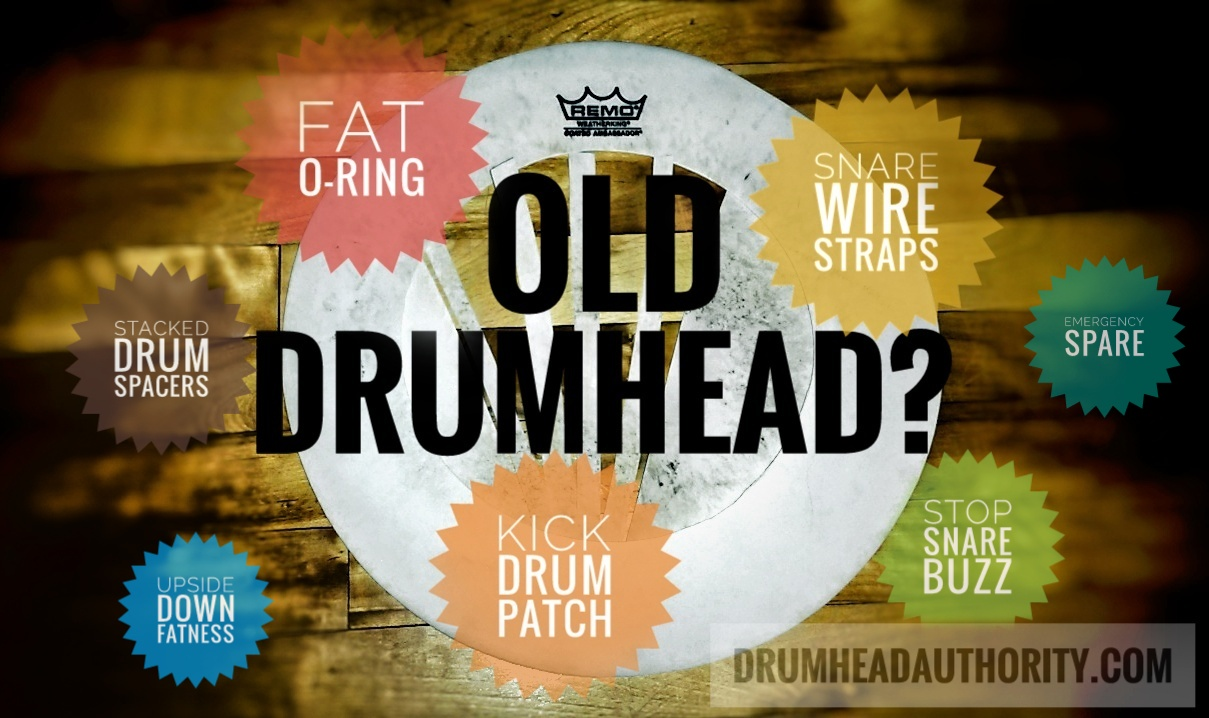 What to do with an old drumhead?