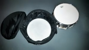 Old drumhead - always keep a spare for emergencies