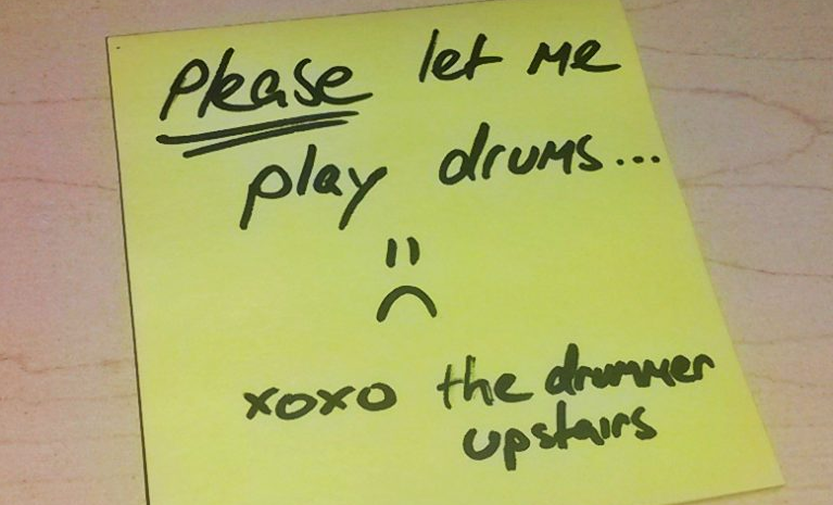 Please let me play drums :(