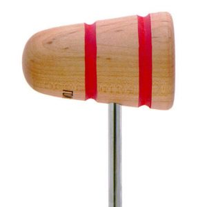 Low Boy Natural Wood Bass Drum Beater
