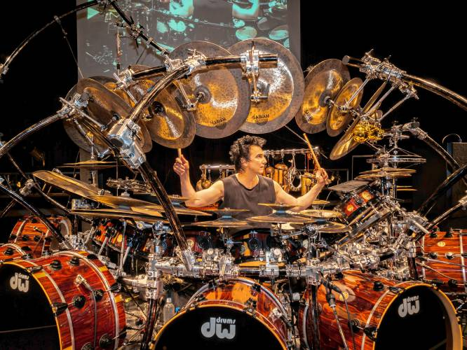 Terry Bozzio - Drum Kit
