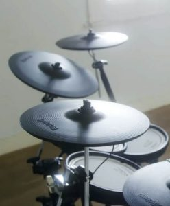 Roland TD-17KVX Review Cymbals