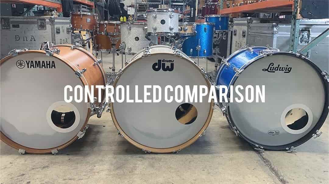 Drum Kit Comparison: Yamaha vs DW vs Ludwig