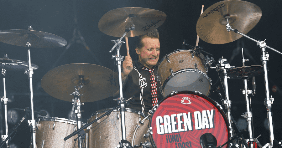 Green Day Tre Cool Drum Kit