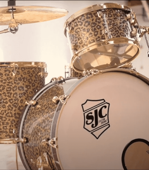 Tre Cool Drum Kit Custom SJC