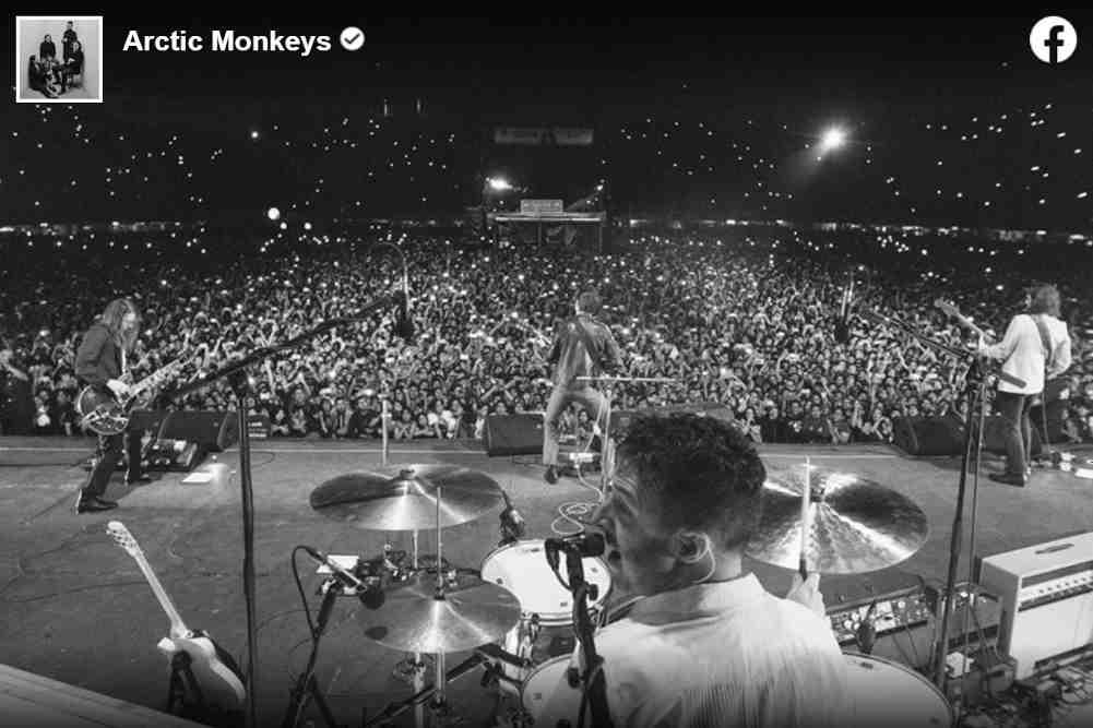 Arctic Monkeys Drummer Matt Helders
