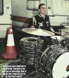 Matt Helders 1971 Ludwig Drum Kit
