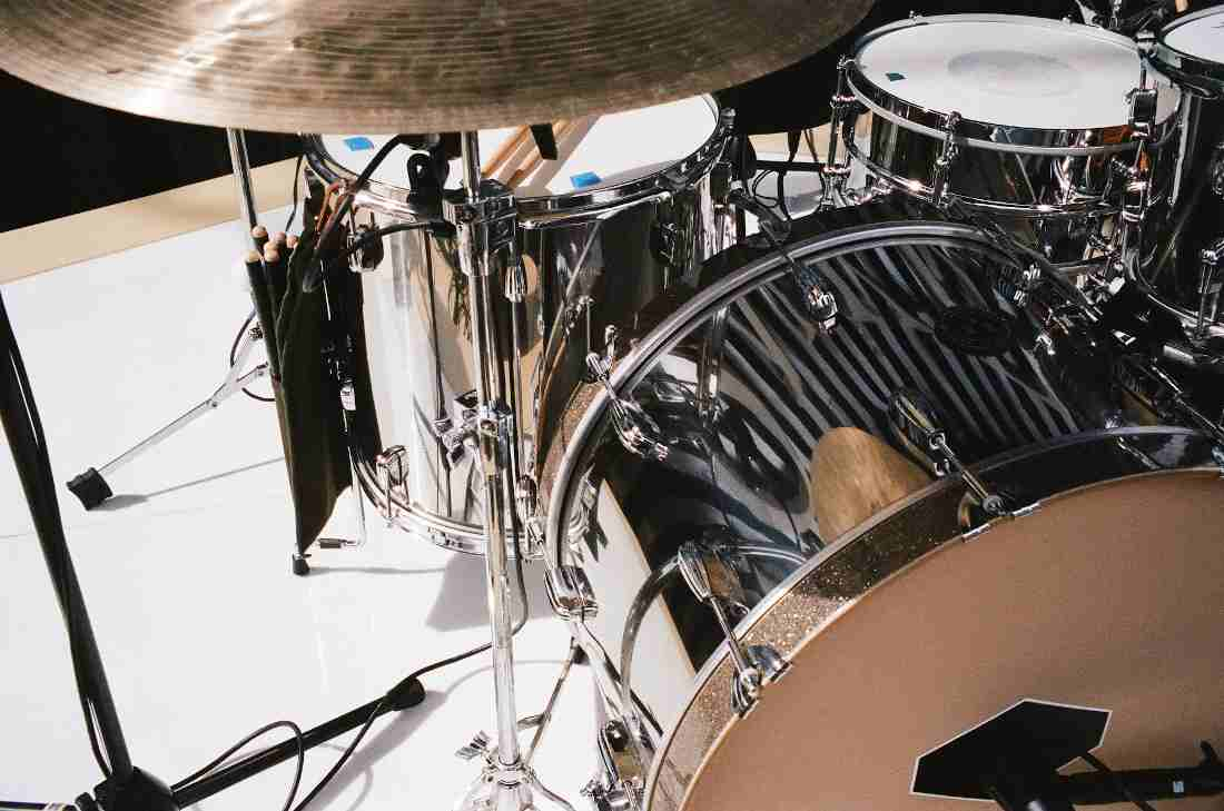 Matt Helders Drum Kit Arctic Monkeys