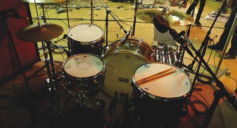Matt Helders Drum Kit and Drumheads