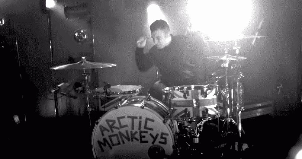 Matt Helders Live Arctic Monkeys