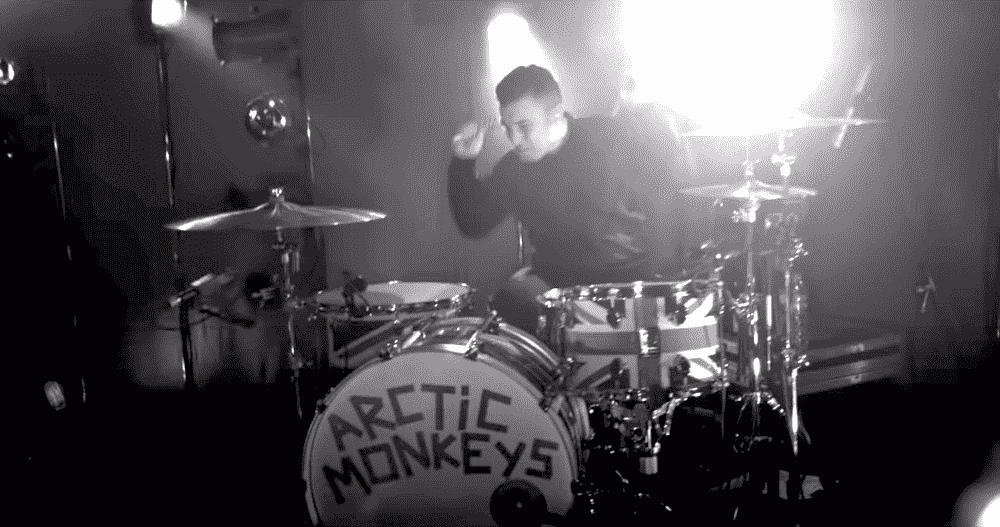 Matt Helders Live Arctic Monkeys