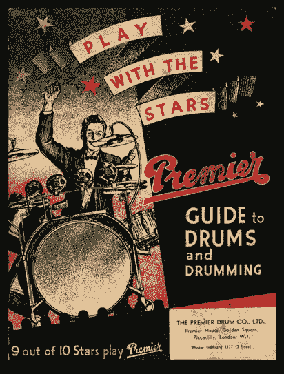 Premier drums 9 out of 10 stars play premier