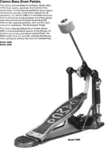 Camco 5000 Bass Drum Pedal