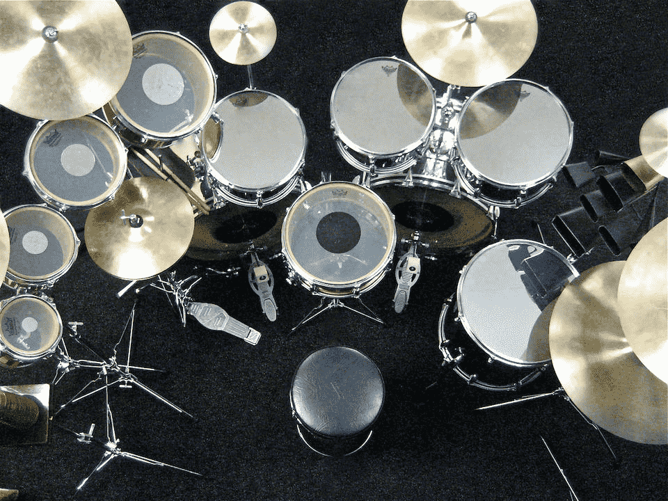 Neil Peart drum set for sale
