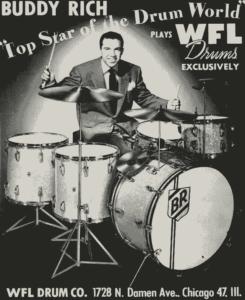 Buddy Rich 1947 Ludwig Drums