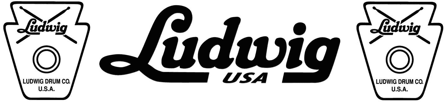 Ludwig Drums History Logo