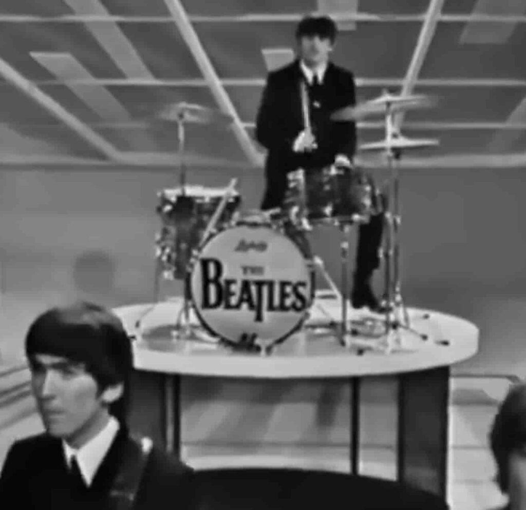 Ringo Starr Ludwig Drums Ed Sullivan 1964